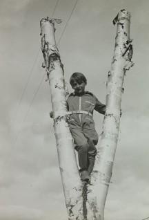 Prins Harald i Little Norway, Canada under krigen. (Foto: Det Kongelige Hoffs Fotoarkiv)
