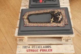 """Tota reciclados, """"Stygge fugler"""", 2009, Foto: Nasjonalmuseet"""
