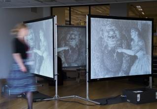 Rigget utstilling. Foto: Nasjonalmuseet