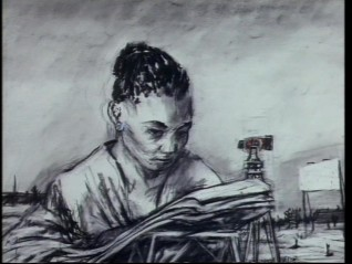 Willliam Kentridge, «Felix in Exile», 1994. Videostills