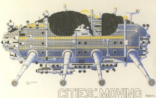 """Vandrende byer"", Archigram"