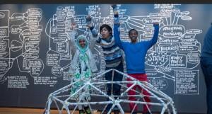 Kreative prosesser: Lage, leke, lære, tenke og sanse. Foto: Nasjonalmuseet