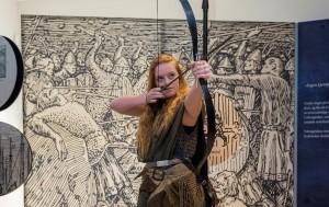 Lær å bruke rollespill og laiv i din kunstformidling. Foto: Nasjonalmuseet