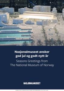 Nasjonalmuseet ænsker god jul.