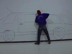 Rhobin Rode, «Biltyveri», 2003. Videostills.