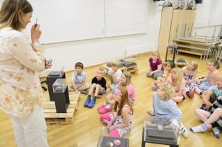 Fra Helle skole, Telemark våren 2012. Foto: Nasjonalmuseet